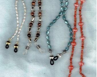 4 Eyeglass Chain Add-ons - Women's Eyeglass Holders Necklaces - Glasses Chain - Glasses Holder - Eye Glass Chain