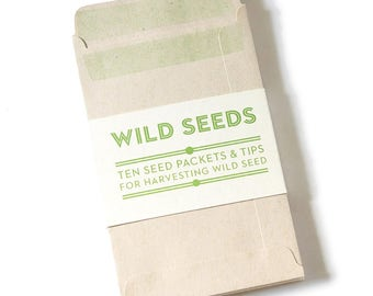 Seed Packet Envelopes for Collecting Wild Seed