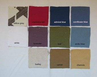 Joy3 Fabric Samples by NikkiDesigns, Cotton, Linen