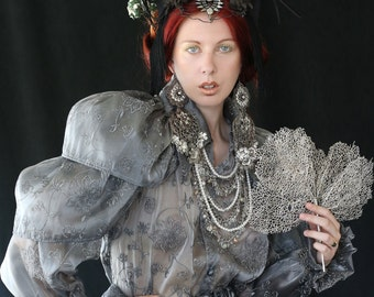 Stunning headdress for fantasy or cosplay, visual shoots or just for standing out!