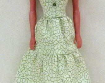 "print Handmade dress for 11.5"" fashion doll dress"