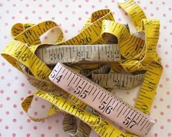 Numbers Numbers...3 Terrific Vintage Measuring Tapes