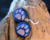 Puppy Paw Earrings, Dog Paw Earrings, Puppy Earrings, Dog Earrings, Dog Lover Jewelry, Dog Lover Gift, Pet Lover Gift, Pet Lover Jewelry