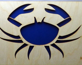 Crab Plywood and Recycled Aluminum in Red
