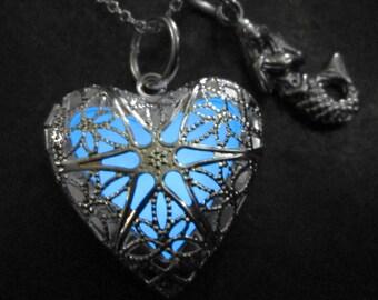 Heart of Atlantis Glow Locket