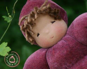 Waldorf Doll - Cuddle Doll according to waldorf pedagogy - Waldorfdoll