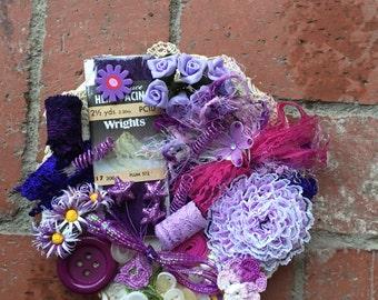 Purple ---Inspiration Kit --