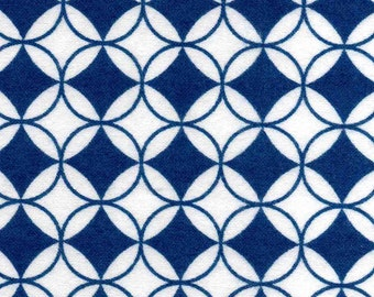 XL Wrap, Microwavable, FLAXSEED, Scented or Unscented,Blue White Flannel Fabric - 2 SIZES