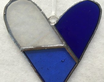 Stained Glass Ornament - Heart