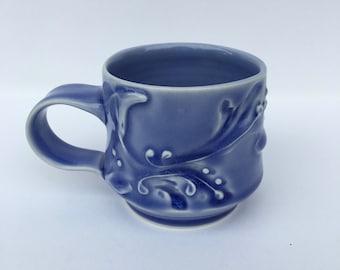 Blue Mug 6 oz