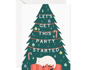 party started card