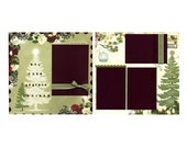 Joy To The World - Two 12x12 Premade Scrapbook Pages