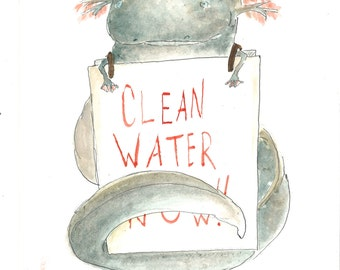 Bring the chorus in.(Clean water now)