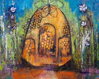 Brigid's Garden - Nature Art