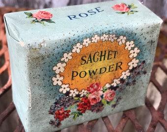 Antique/Vintage Package of Sachet Powder
