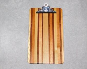 "Legal Size Wood Clipboard (15.5"" x 9.25"")"
