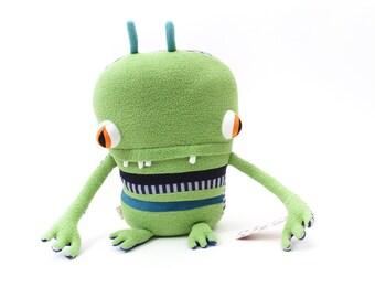 "Plush Stuffed Monster ""Graize"" Little Cotton Monster"