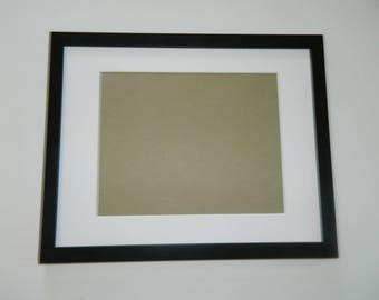 """5 x 7"""" Black Picture Frame -Ready to Hang"""