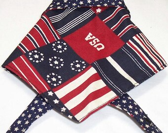 Dog Bandana U.S.A. Stars and Stripes
