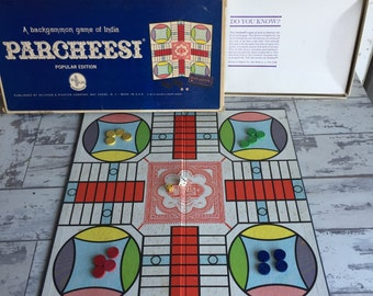 Vintage Board Games - Choice of Parcheesi or Pente
