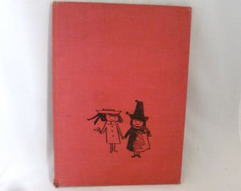 Madeline and the Bad Hat, 1956 copyright, Bemelmans, The Viking Press, Harcover, 54 pages, classic kids lit, vintage childrens book, no dj