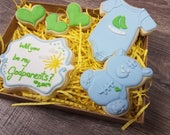 Will you be my Grandparents Sugar Cookie Gift Box- 6 Cookies