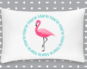 Personalized Flamingo Pillowcase Home Decor Bedding Bed Woodland Nursery