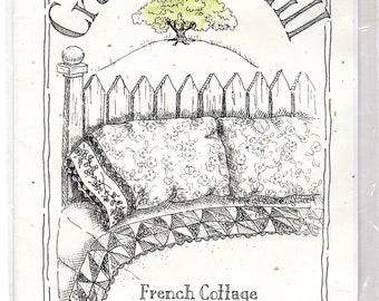 Sewing Pattern - French Cottage Flower Bed Set