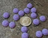 Store CLOSING SALE 10mmc9 Lavender Chrysanthemum Dahlia Chrissy Mum Resin Flowers 10mm Qty 16