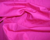 Special offer! Cerise cotton poplin fabric 3 metres - made in Europe