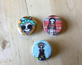 Pin Set- De Colores, China Poblana, Birdsnest