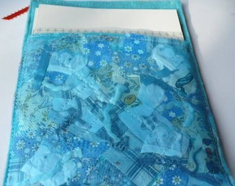 Blue Fabric Budget Envelope Pouch, Envelope System, Cash Envelope, Budget Wallet, Cash Organizer