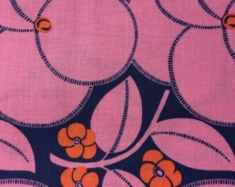 Fabric Destash Amy Butler Hapi Heart Bloom in Rose