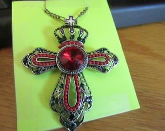 RED crown cross