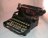 Antique Corona 3 Folding Manual Typewriter with Case 1919