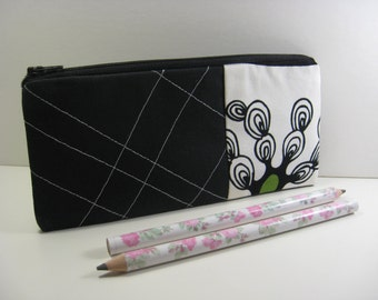 Cosmetic Bag, Pencil Case, Zipper Pouch, Coin Purse, Purse Organizer - Branches