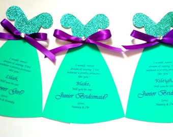 Will you be our Flower Girl,Flower Girl Card,You be my Flower Girl,Junior Bridesmaid