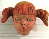 handmade doll face mask supplies supply craft parts body head DIY fabric stuffed girl woman child