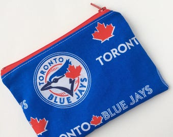 Snack Bag - Blue Jays Snack Bag - Kids Snack Bag - Lunch Pouch -  Snack Sack - Lunch Sack - Baseball Zippered Snack Bag