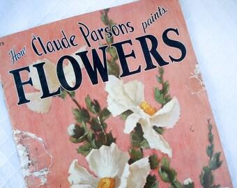FOUND IN SPAIN -- Claude Parsons Paints Flowers