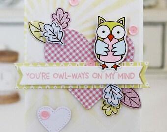 Olw-ways On My Mind...Handmade Card