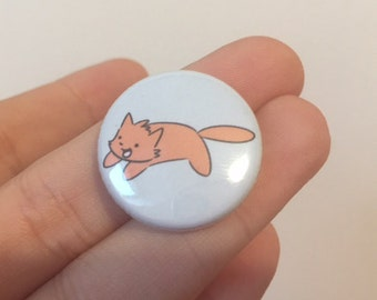 Happy Kitten Pin badge