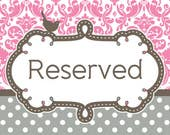 RESERVED for ISPADAFINO1 - 5 Curtain Panels