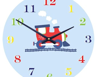 Childrens Train Clock (out of stock)
