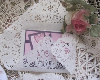 50 White Square Doilies, Glassine 10 inch doilies, Paper Wedding Doilies