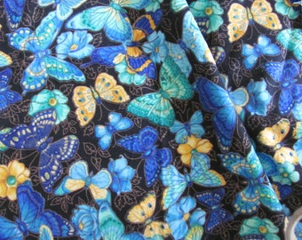 Colorful Butterfly Fabric by Cranston...VIP