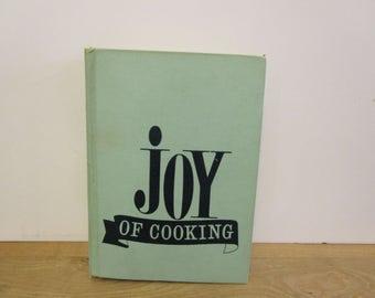 Joy of Cooking,  Irma Rombauer & Marion Rombauer Becker, Cookbook, Vintage cookbook, American Cooking