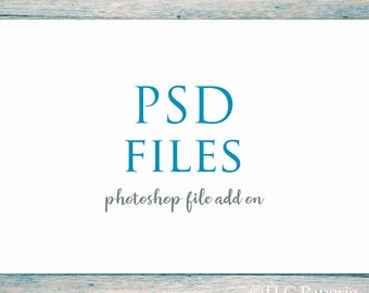 PSD add on to go with your premade logo ... Photoshop files