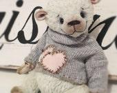 RESERVED Hope- A Hand Made Artist Teddy Bear