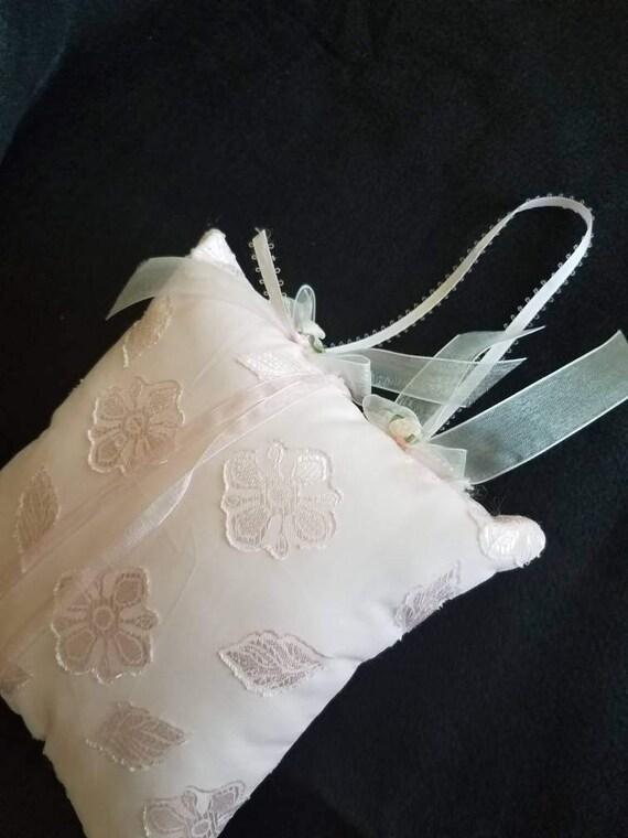 Wedding Ring Bearer Pillow Bridal Keepsake